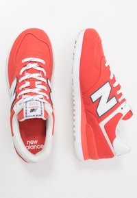 New Balance - 574 - Sneakers basse - red/white - 1