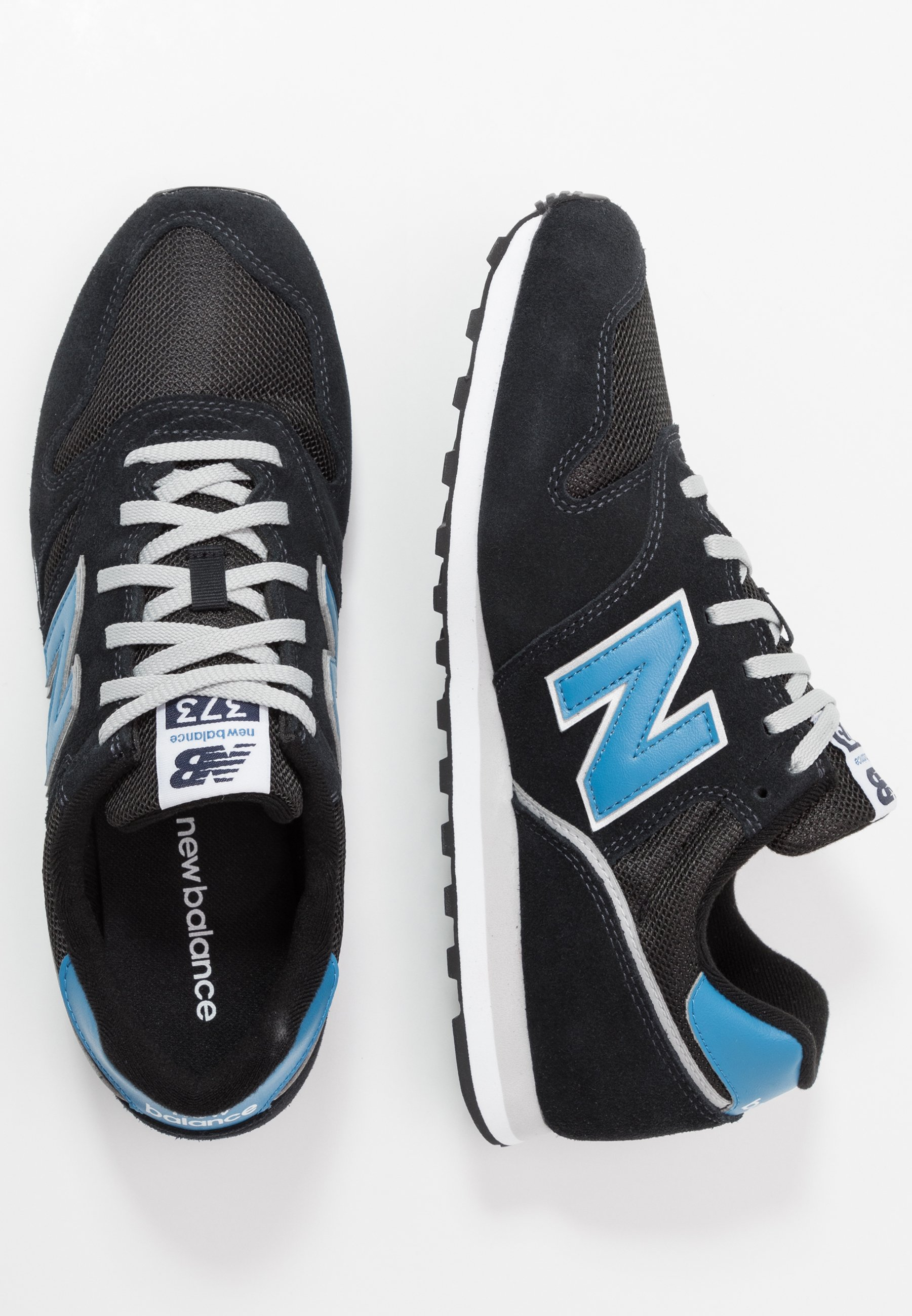 373 - Sneaker low - black/blue