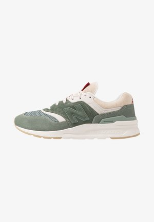 997 H - Baskets basses - green/grey