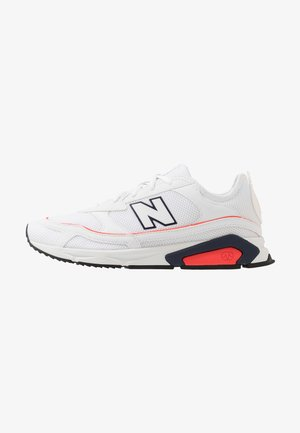 X-RACER - Baskets basses - white/red