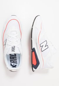 New Balance - X-RACER - Baskets basses - white/red - 1