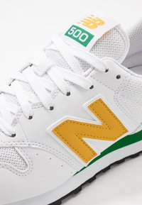 New Balance - 500 - Trainers - white/green/sunflower - 5