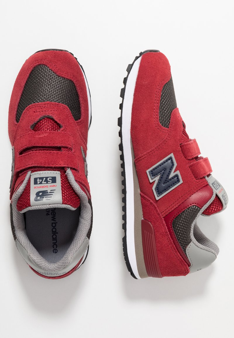 New Balance - YV574FNG - Joggesko - red