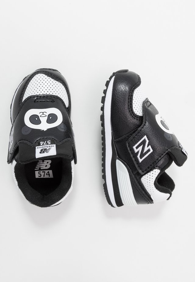 IV574MCK - Sneakers laag - black/white