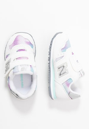 IV373GW - Sneakersy niskie - white/purple