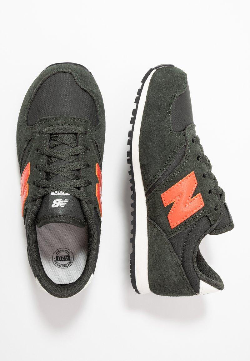 New Balance - Sneakers - green/orange