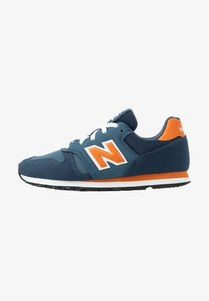YC373KG - Sneaker low - navy/orange