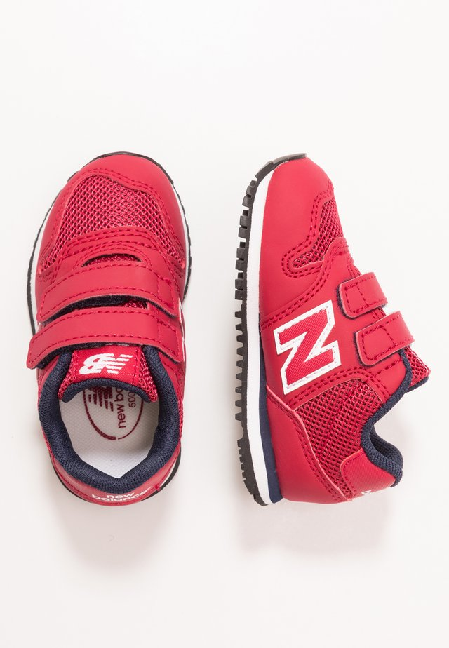 IV500RG - Sneakers laag - red/navy