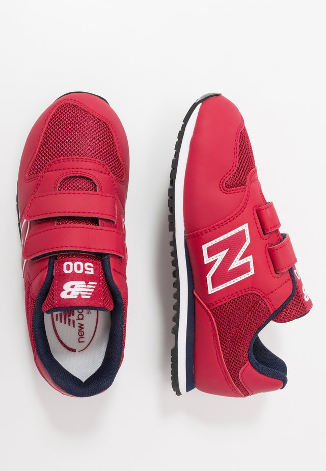 YV500RR - Sneakers laag - red/navy