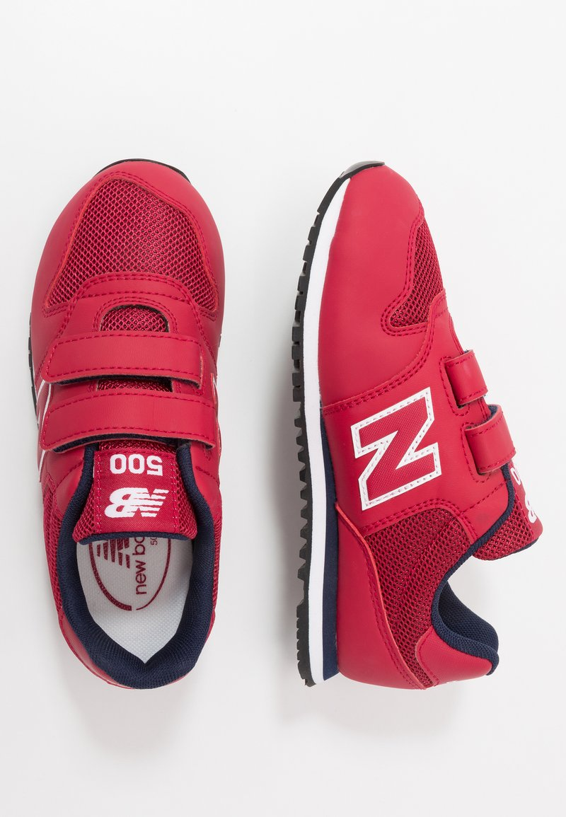 New Balance - YV500RR - Baskets basses - red/navy