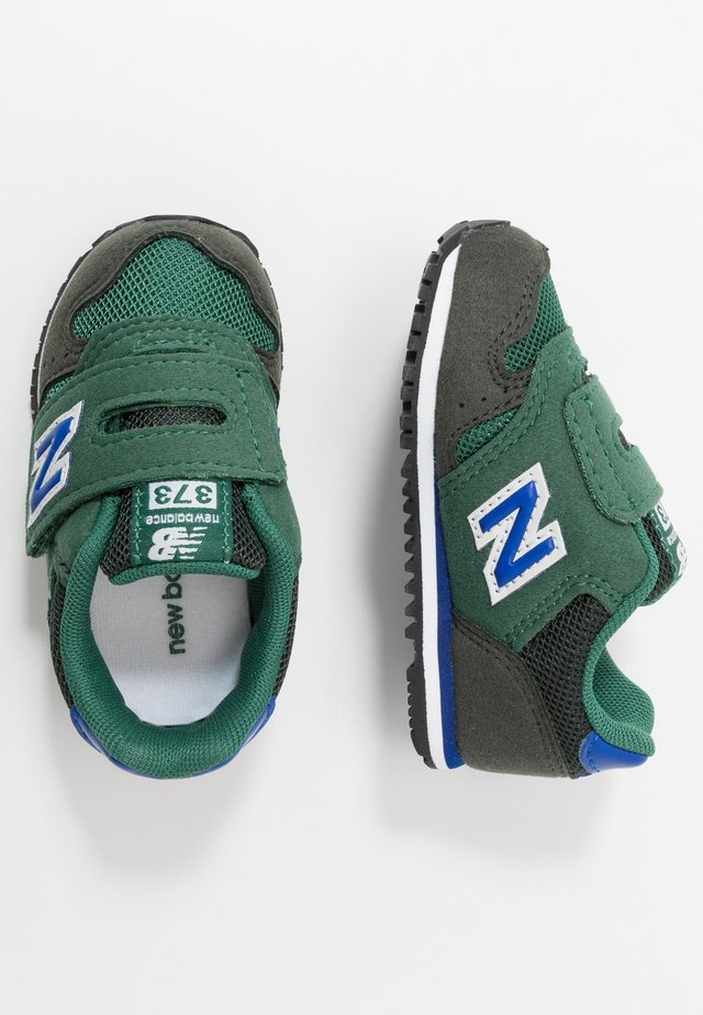 IV373KN - Sneakers laag - navy/green