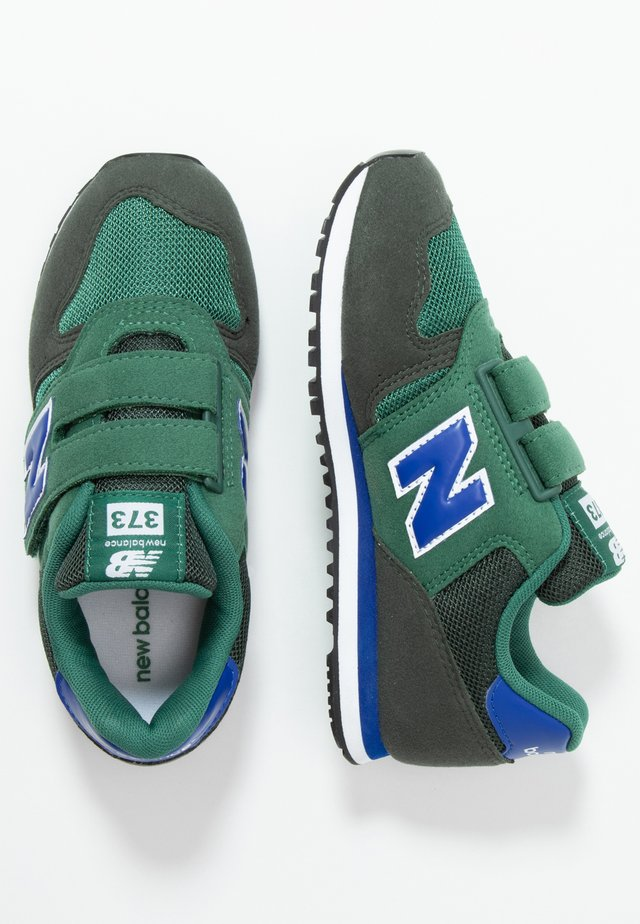 YV373KE - Sneakers laag - navy/green