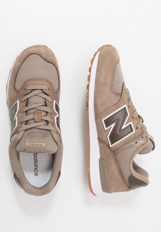 PC574PRN - Sneakers laag - brown