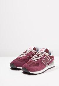 New Balance - 574 - Sneakersy niskie - burgundy - 2