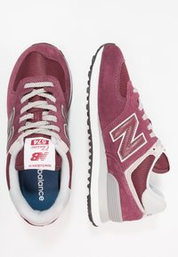 New Balance - 574 - Sneakersy niskie - burgundy - 1
