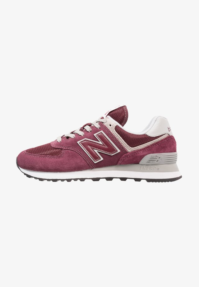 574 - Trainers - burgundy