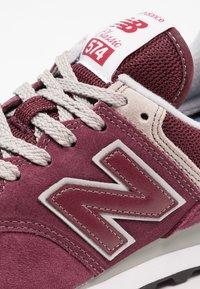 New Balance - 574 - Sneakersy niskie - burgundy - 5