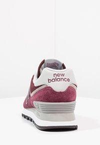 New Balance - 574 - Sneakersy niskie - burgundy - 3