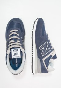 New Balance - 574 - Baskets basses - black iris - 1