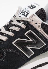 New Balance - 574 - Sneakersy niskie - black - 5