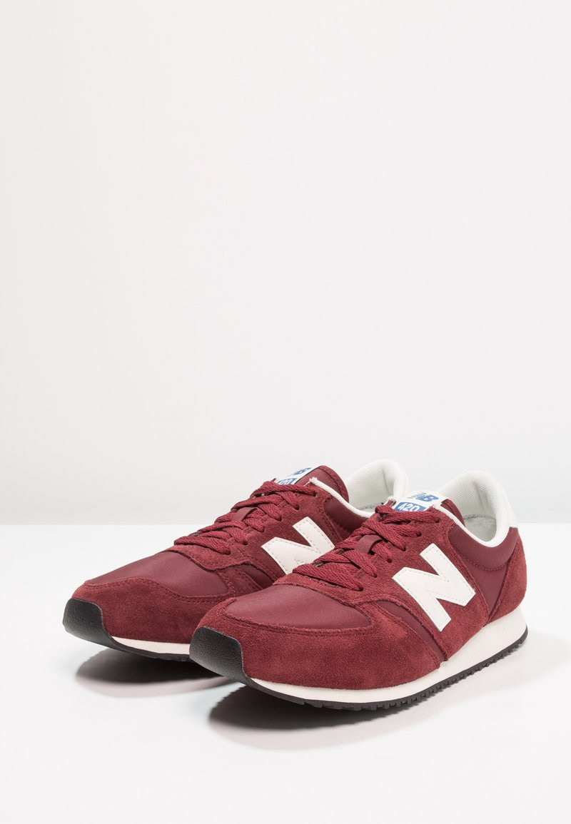 Basses New Balance Red Dark U420Baskets rdxeoCB