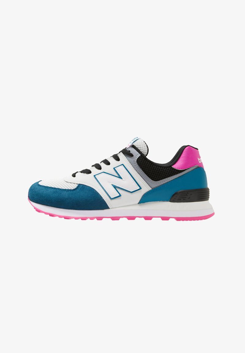 New Balance - ML574 - Sneaker low - white/petrol/pink
