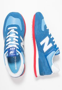 New Balance - ML574 - Sneakers - blue/red - 1
