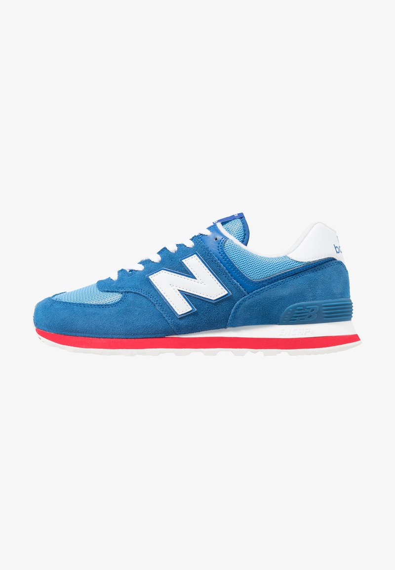 New Balance - ML574 - Sneakers - blue/red