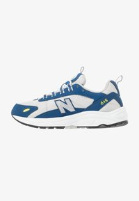 New Balance - ML615 - Tenisky - white/blue - 1