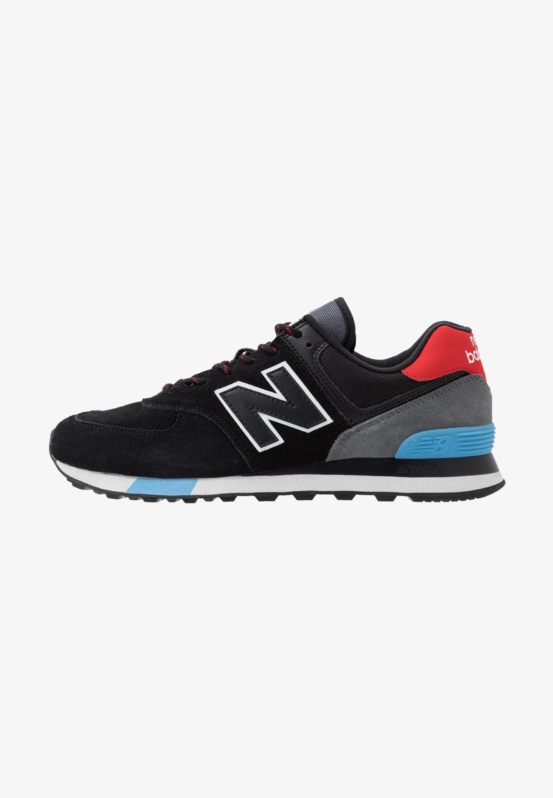 New Balance - ML574 - Trainers - black/red