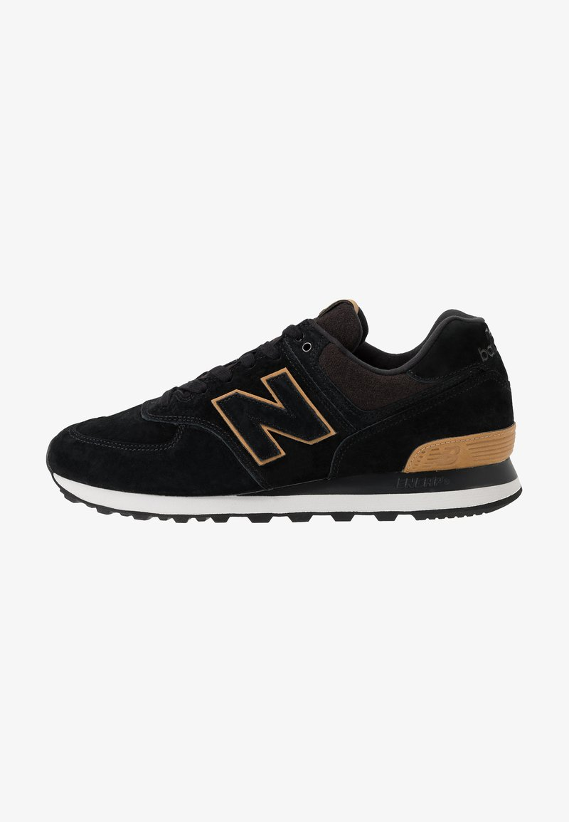 New Balance - Trainers - jfe black/yellow