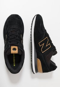 New Balance - Trainers - jfe black/yellow - 1