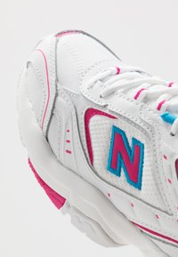 New Balance - Sneakersy niskie - white - 5