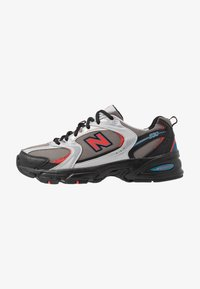 New Balance - 530 - Matalavartiset tennarit - black/red