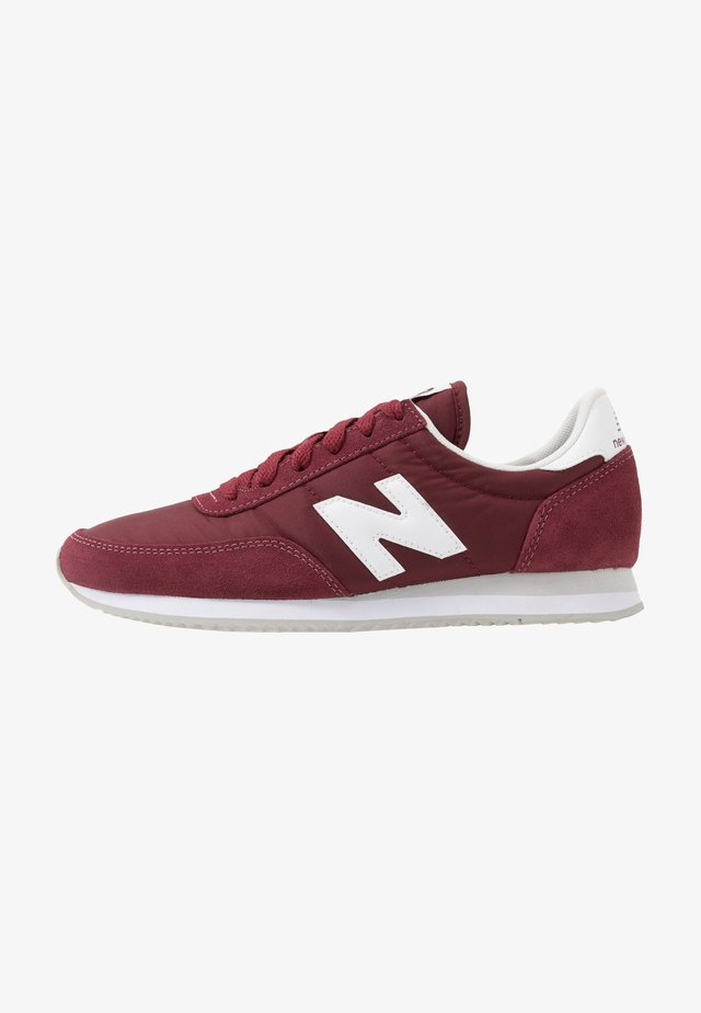 720 - Sneakers laag - red/white