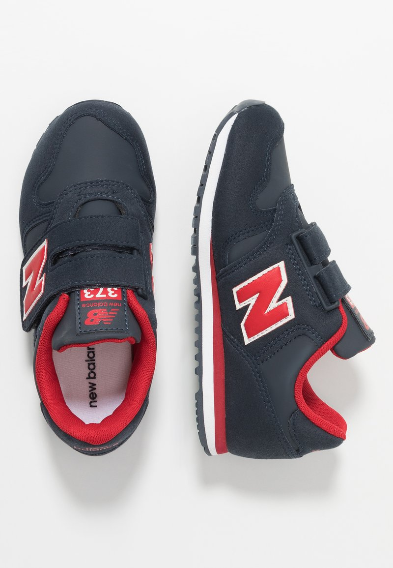 New Balance - YV373CC - Baskets basses - navy/red