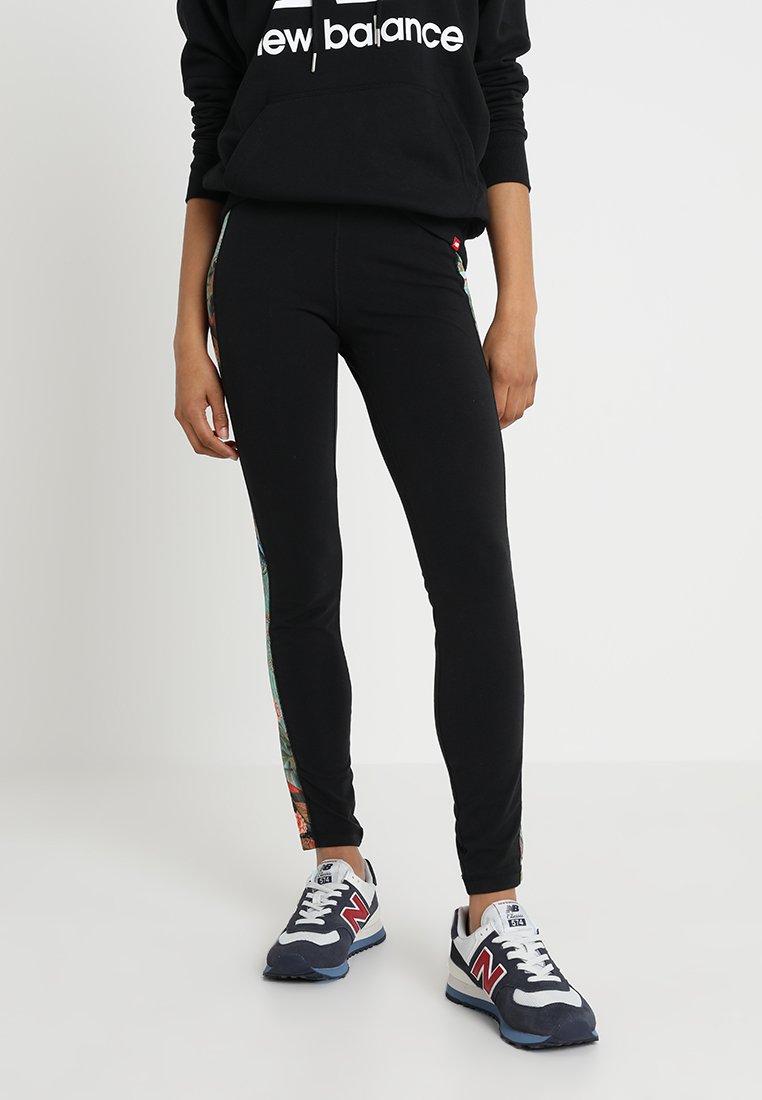 New Balance - SWEET NECTAR - Leggings - Trousers - black/multi