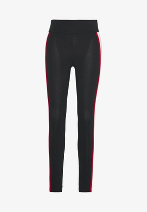 ATHLETICS PIPING  - Leggings - black
