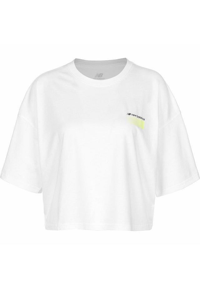 T-shirt print - wt white