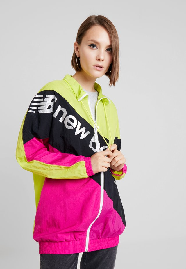 SPORT STYLE OPTIKS WINDBREAKER - Short coat - sulphur yellow
