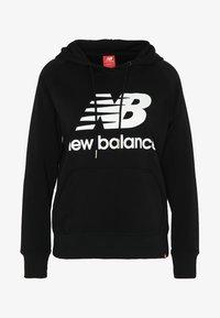 New Balance - ESSENTIALS HOODIE - Bluza z kapturem - black - 3