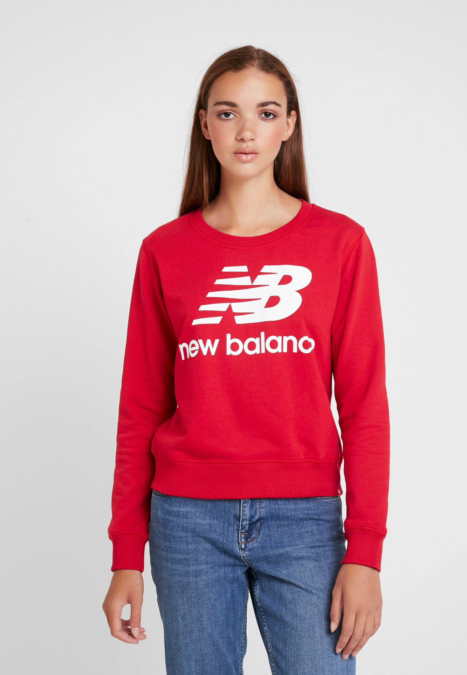 Essentials New CrewSweatshirt Red Balance Team 1cFlKJ