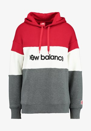 ATHLETICS STADIUM HOODIE - Sweat à capuche - team red