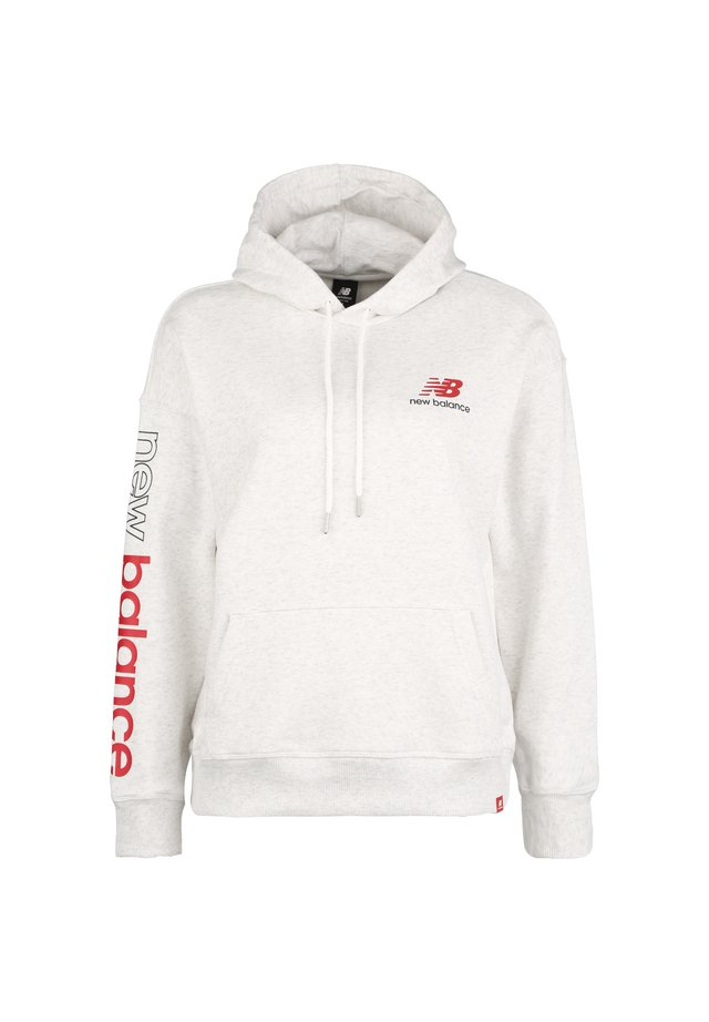 ESSENTIALS ICON PULLOVER - Hoodie - other white