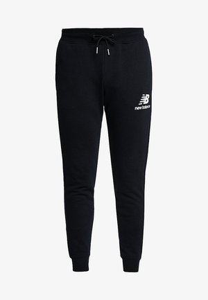ESSENTIALS STACKED LOGO - Pantalon de survêtement - black