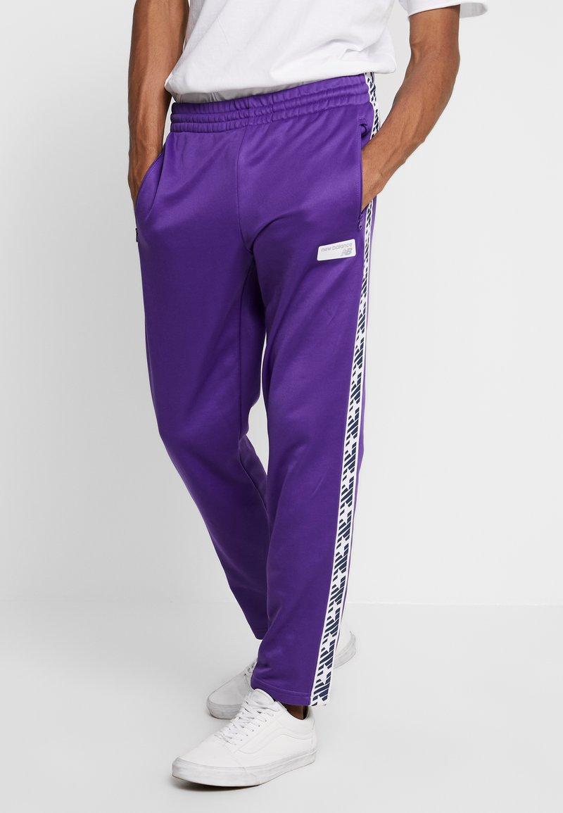 New Balance - ATHLETICS CLASSIC TRACK PANT - Joggebukse - prism purple