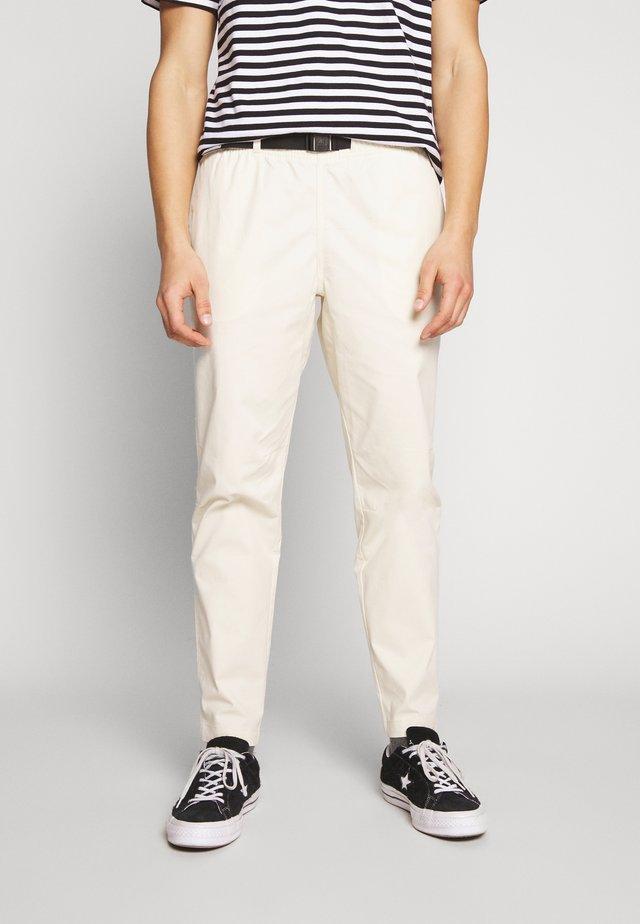 PANT - Pantaloni - bone