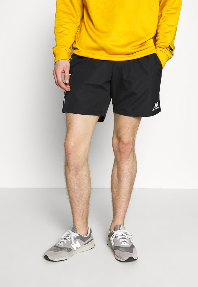NB ATHLETICS WIND SHORT - Shorts - black