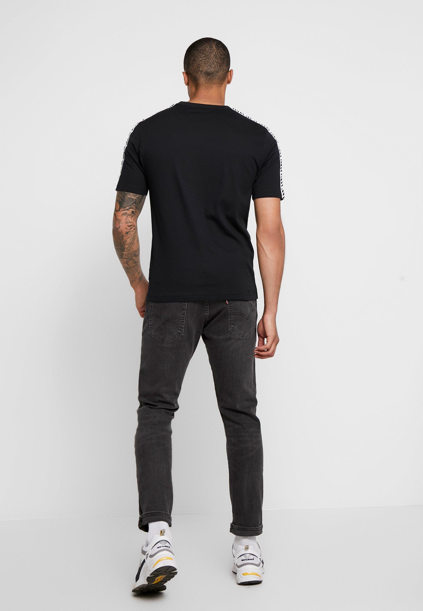 Black TrackT Balance Athletics New shirt Imprimé rthsdQC