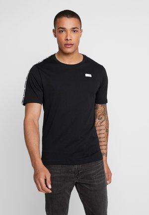 ATHLETICS TRACK - Print T-shirt - black